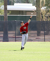 Collin Cowgill / Arizona Diamondbacks 2008 Instructional League..Photo by:  Bill Mitchell/Four Seam Images