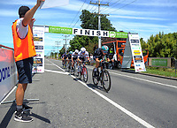 NZ's Hayden McCormick starts the final lap of stage five of the 2018 NZ Cycle Classic UCI Oceania Tour (Masterton criterium) in Masterton, New Zealand on Friday, 21 January 2018. Photo: Dave Lintott / lintottphoto.co.nz