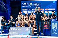 VUKANIC Nenad Coach<br />  <br /> Budapest 16/01/2020 Duna Arena <br /> France (white caps) Vs. Italy (blue caps) Men<br /> XXXIV LEN European Water Polo Championships 2020<br /> Photo  ©Giorgio Scala / Deepbluemedia / Insidefoto