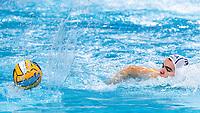 3 FRA MARION-VERNOUX Romain France<br />  <br /> Budapest 16/01/2020 Duna Arena <br /> France (white caps) Vs. Italy (blue caps) Men<br /> XXXIV LEN European Water Polo Championships 2020<br /> Photo  ©Giorgio Scala / Deepbluemedia / Insidefoto