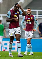 Aston Villa's Kortney Hause reacts after the game<br /> <br /> Photographer Alex Dodd/CameraSport<br /> <br /> The Premier League - Newcastle United v Aston Villa - Wednesday 24th June 2020 - St James' Park - Newcastle <br /> <br /> World Copyright © 2020 CameraSport. All rights reserved. 43 Linden Ave. Countesthorpe. Leicester. England. LE8 5PG - Tel: +44 (0) 116 277 4147 - admin@camerasport.com - www.camerasport.com