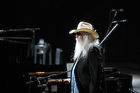 2011  file photo  - Rock and roll Hall of Fame  - Leon Russell (R)