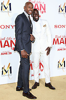 HOLLYWOOD, LOS ANGELES, CA, USA - JUNE 09: Romany Malco, Kevin Hart at the Los Angeles Premiere Of Screen Gems' 'Think Like A Man Too' held at the TCL Chinese Theatre on June 9, 2014 in Hollywood, Los Angeles, California, United States. (Photo by David Acosta/Celebrity Monitor)