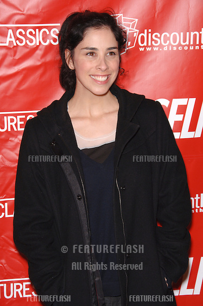 Actress SARAH SILVERMAN at the Los Angeles premiere of Friends with Money..March 27, 2006  Los Angeles, CA.© 2006 Paul Smith / Featureflash
