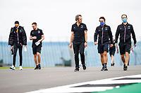 15th July 2021, Silverstone Circuit, Northampton, England;  ALONSO Fernando (spa), Alpine F1 A521 and OCON Esteban (fra), Alpine F1 A521, portrait during the Formula 1 Pirelli British Grand Prix 2021, 10th round of the 2021 FIA Formula One World Championship