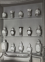 BNPS.co.uk (01202 558833)<br /> Pic: NoordHollandsArchief/Sotheby's/BNPS<br /> <br /> Pictured: Archival pictures of Mannheimer Collection in situ.<br /> <br /> A stunning collection of German porcelain that was found by the so-called Monuments Men before it could be destroyed by the Nazis has sold 76 years later for over £10m.<br /> <br /> The hoard of Meissen antiques that was seized by the Third Reich during the Second World War was discovered in a salt mine in Austria in 1945.<br /> <br /> It had been amassed years earlier by German-Jewish industrialist Dr Franz Oppenheimer and his wife Margarethe.