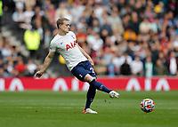 3rd October 2021; Tottenham Hotspur Stadium. Tottenham, London, England; Premier League football, Tottenham versus Aston Villa: Oliver Skipp of Tottenham Hotspur