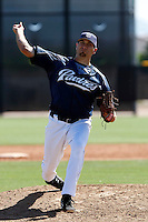 Cooper Brannan - San Diego Padres - 2009 spring training.Photo by:  Bill Mitchell/Four Seam Images