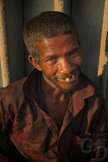 Poverty In the streets of Colombo, Sri Lanka