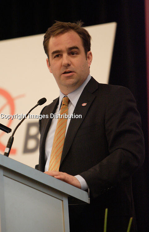 Montreal (Qc) Canada - January 17 2011 - Geoff Molson, Chairman of the Board, Canadiens Hockey Team talk about Beer and Hockey at the Canadian Club