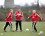 Stuart McCall, Mark McGhee and Gordon Strachan