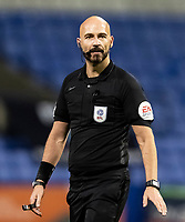 Referee Darren Drysdale looks on <br /> <br /> Photographer Andrew Kearns/CameraSport<br /> <br /> The EFL Sky Bet League Two - Bolton Wanderers v Salford City - Friday 13th November 2020 - University of Bolton Stadium - Bolton<br /> <br /> World Copyright © 2020 CameraSport. All rights reserved. 43 Linden Ave. Countesthorpe. Leicester. England. LE8 5PG - Tel: +44 (0) 116 277 4147 - admin@camerasport.com - www.camerasport.com