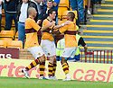 :: MOTHERWELL'S JAMIE MURPHY CELEBRATES AFTER HE SCORES MOTHERWELL'S FIRST ::