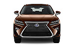 Car photography straight front view of a 2016 Lexus RX Privilege Line 5 Door Suv Front View