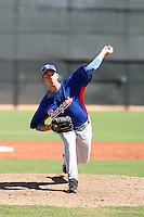 Chris Hanna - Texas Rangers - 2010 Instructional League.Photo by:  Bill Mitchell/Four Seam Images..
