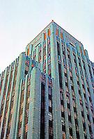 Los Angeles: Eastern Building, 849 S. Broadway, L. A.--Tower. Claude Beelman 1929. Photo '89.