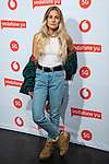 Maria Escarmiento during the photocall of VODAFONE YU MUSIC SHOWS<br /> ESTOPA  in Concert. <br /> <br /> October 2, 2019. (ALTERPHOTOS/David Jar)