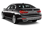 Car pictures of rear three quarter view of 2016 BMW 7-Reeks-Berline 4 Door Sedan Angular Rear