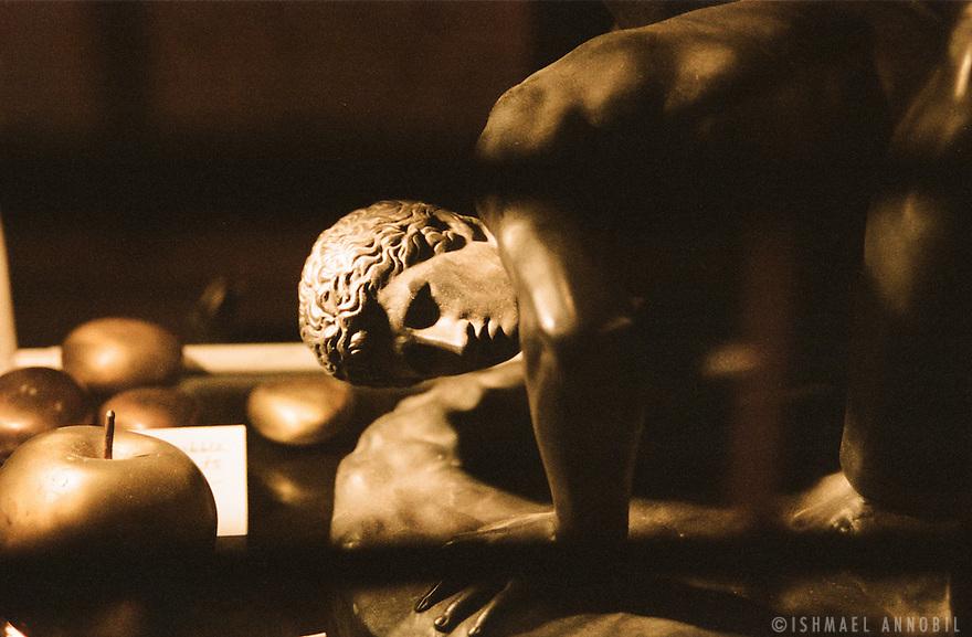 Ancient Greek wrestler.