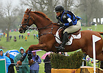 April 25, 2015:  #1 Shiraz and Colleen Rutledge on the Cross Country course during the Rolex Three Day Event at the Kentucky Horse Park in Lexington, KY.  Candice Chavez/ESW/CSM