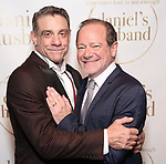 """Lou Liberatore and Michael McKeever during the Opening Night Celebration for """"Daniel's Husband"""" at the West Bank on October 28, 2018 in New York City."""