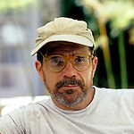 Cover portrait of Writer-Director David Mamet for Written By Magazine.