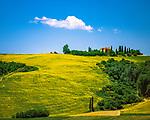 Italien, Toskana, Provinz Siena: Bauernhof bei Buonconvento | Italy, Tuscany, Province of Siena: tuscan farm near Buonconvento