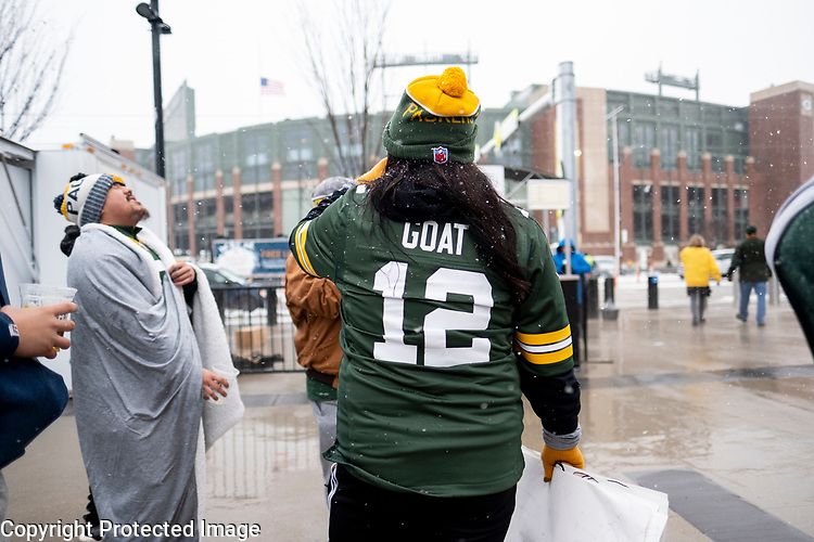 Green Bay Packers against the Arizona Cardinals during a regular season game at Lambeau Field in Green Bay on Sunday, December 2, 2018.
