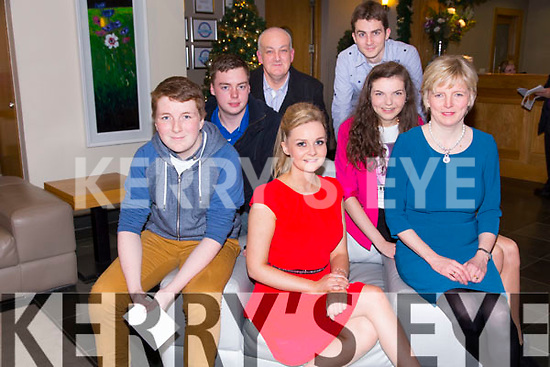 Richard Williams, Shauna Williams, Marie Williams, Robert Fannon, Ashling Williams, Martin Williams, Nigel Williams at the St. Pats Blennerville Strictly come Dancing fundraiser at Ballyroe Heights Hotel on Friday