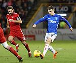 06.02.2019:Aberdeen v Rangers: Ryan Jack and Graeme Shinnie