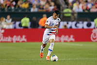 PHILADELPHIA, PENNSYLVANIA - JUNE 30: Nick Lima #2 during the 2019 CONCACAF Gold Cup quarterfinal match between the United States and Curacao at Lincoln Financial Field on June 30, 2019 in Philadelphia, Pennsylvania. PHILADELPHIA, PENNSYLVANIA - JUNE 30: Nick Lima #2 during the 2019 CONCACAF Gold Cup quarterfinal match between the United States and Curacao at Lincoln Financial Field on June 30, 2019 in Philadelphia, Pennsylvania.