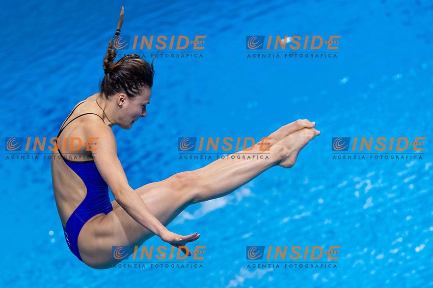 POLIAKOVA Mariia RUS<br /> 3m Springboard Women Preliminary<br /> Diving<br /> Budapest  - Hungary  15/5/2021<br /> Duna Arena<br /> XXXV LEN European Aquatic Championships<br /> Photo Giorgio Perottino / Deepbluemedia / Insidefoto