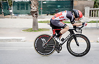 Jasper De Buyst (BEL/Lotto Soudal)<br /> <br /> Final stage 7 (ITT) from San Benedetto del Tronto to San Benedetto del Tronto (10.1km)<br /> <br /> 56th Tirreno-Adriatico 2021 (2.UWT) <br /> <br /> ©kramon