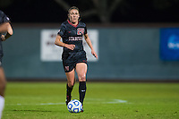 STANFORD, CA - November 21, 2014: Alex Doll during the Stanford vs Arkansas women's second round NCAA soccer match in Stanford, California.  The Cardinal defeated the Razorbacks 1-0.