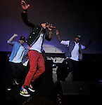 """Mohombi, Jul 27, 2011 : Swedish-Congolese singer Mohombi performs during a promotion event for his new album """"MoveMeant"""" in Tokyo, Japan."""