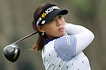 CHON BURI, THAILAND - FEBRUARY 17:  Amy Yang of South Korea tees off on the 6th hole during day two of the LPGA Thailand at Siam Country Club on February 17, 2012 in Chon Buri, Thailand.  Photo by Victor Fraile / The Power of Sport Images