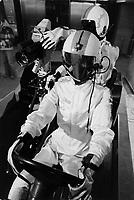 Dévoilement des équipements pour la télédiffusion des jeux olympiques de 1976. <br /> <br />  PHOTO : Alain Renaud - Agence Québec Presse.