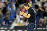 CD Leganes' coach Mauricio Pellegrino celebrates the victory in La Liga match. September 26,2018. (ALTERPHOTOS/Acero)