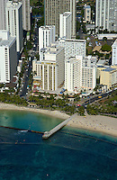 Aerial of Resort Quest Waikiki Beach Hotel