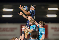 8th January 2021; AJ Bell Stadium, Salford, Lancashire, England; English Premiership Rugby, Sale Sharks versus Worcester Warriors; Jono Ross of Sale Sharks wins a lineout