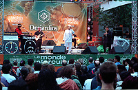 Quebec  (QC) CANADA -  August 1999 file photo - Francofolies outdoor concert
