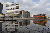 Addis Abeba,Etiopia. Mezzi pubblici in città. Public transport.