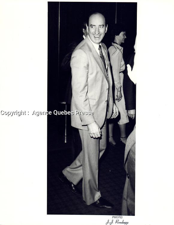Marc Lalonde,<br /> 5 Decembre1980<br /> <br /> PHOTO : Agence Quebec Prese