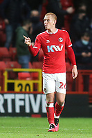 Ben Watson of Charlton Athletic during Charlton Athletic vs AFC Wimbledon, Sky Bet EFL League 1 Football at The Valley on 12th December 2020