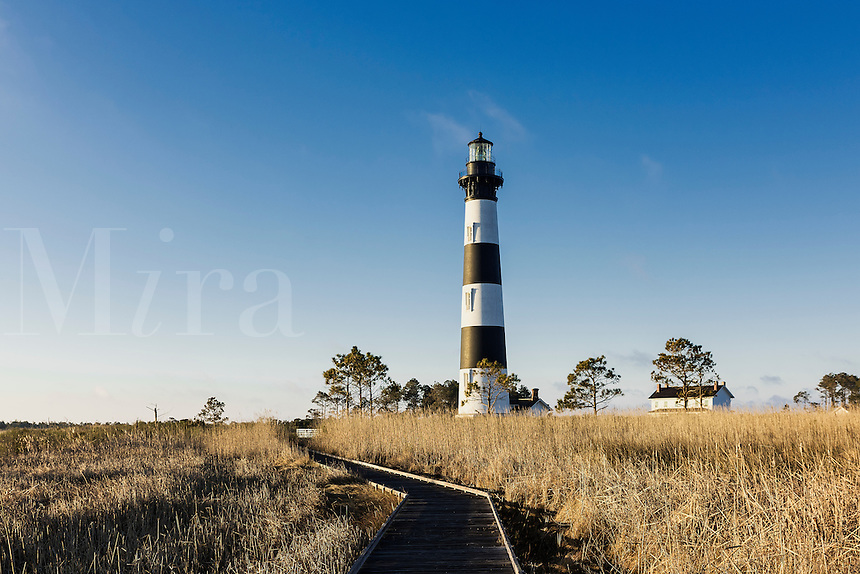 Bodie Island Lighthouse, Cape Hatteras National Seashore, North Carolina, USA
