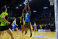 Grace Nweke in action during the ANZ Premiership netball match between Central Pulse and Northern Mystics at TSB Bank Arena in Wellington, New Zealand on Monday, 10 May 2021. Photo: Dave Lintott / lintottphoto.co.nz