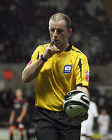 Pictured: Referee Graham Horwood<br /> Re: Coca Cola Championship, Swansea City FC v Barnsley at the Liberty Stadium. Swansea, south Wales, Tuesday 09 December 2008.<br /> Picture by D Legakis Photography / Athena Picture Agency, Swansea 07815441513
