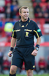 Hamilton Accies v St Johnstone..23.10.10  .Ref Mike Tumilty.Picture by Graeme Hart..Copyright Perthshire Picture Agency.Tel: 01738 623350  Mobile: 07990 594431
