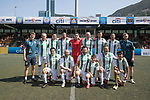 KCC Veterans (in white and green) vs HKFC Chairman's Select (in blue), during their Masters Tournament match, part of the HKFC Citi Soccer Sevens 2017 on 27 May 2017 at the Hong Kong Football Club, Hong Kong, China. Photo by Chris Wong / Power Sport Images