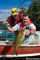 Summer bass fishing